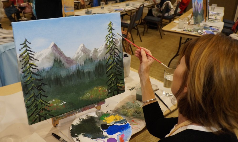 PAINTING CLASSES    Learn more