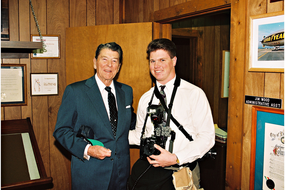 I'll never forget that time I met and got to photograph President Reagan. My grandma was so proud!