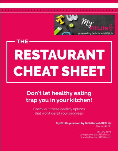 The Restaurant Cheat Sheet