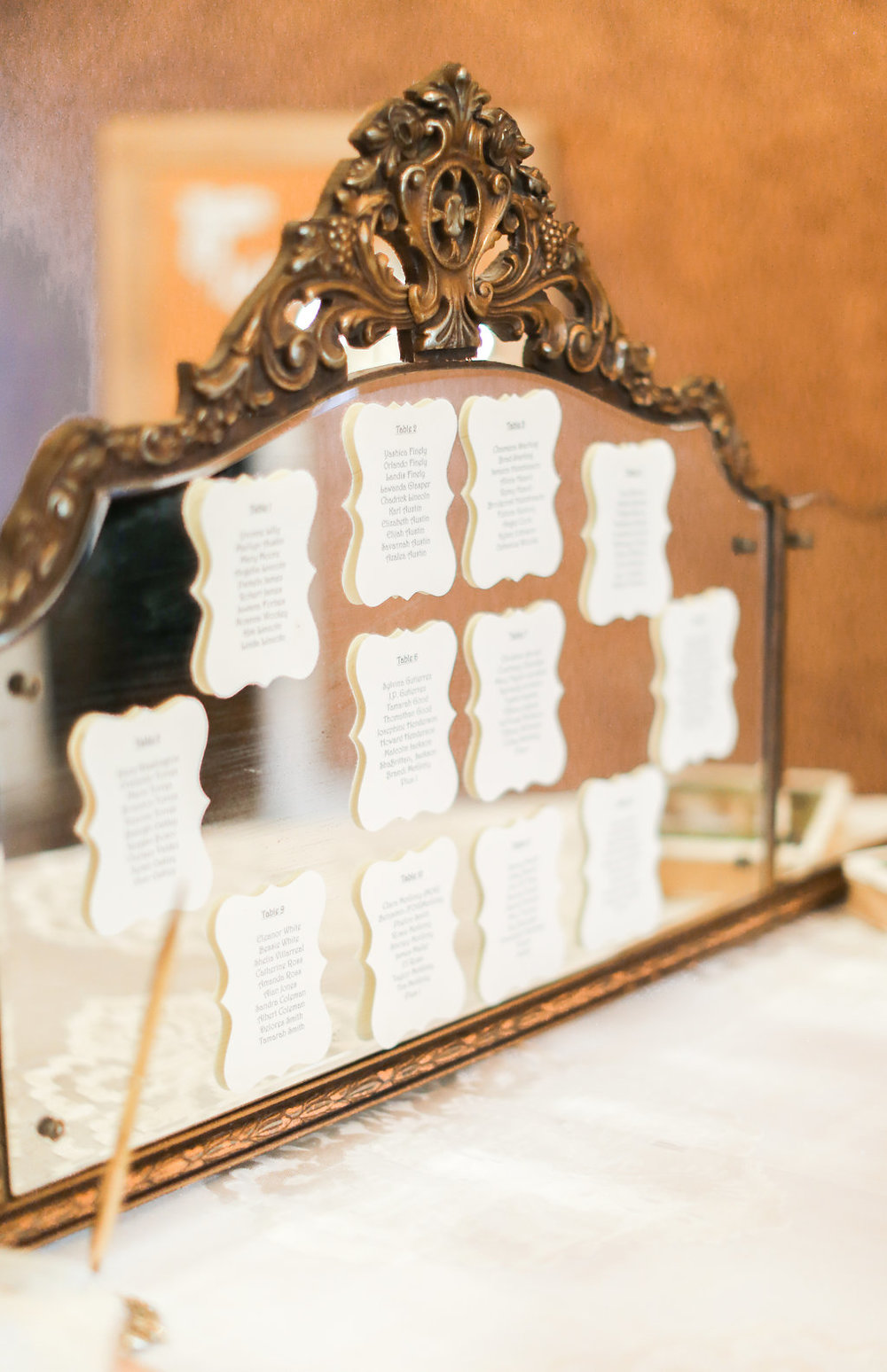Vintage Crown Mirror