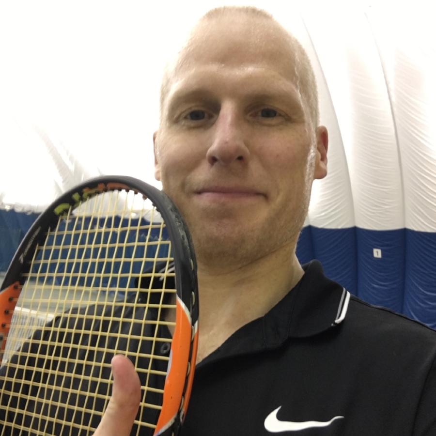 "Chris Olberding  Favorite Activities: Tennis  Accomplishments/Awards: I got back onto the tennis court! I also learned range of motion exercises and stretches that continue to help me increase my strength and flexibility.   ""It's the ONLY place to go! PHLEX Is a great environment for PT and I always felt confident in the direction my therapist took. They have some of the softest and strongest hands around! A unique balance. PHLEX has helped me regain almost all of what I had before and has given me confidence in continuing to build on what we worked on over the last 8 months."""
