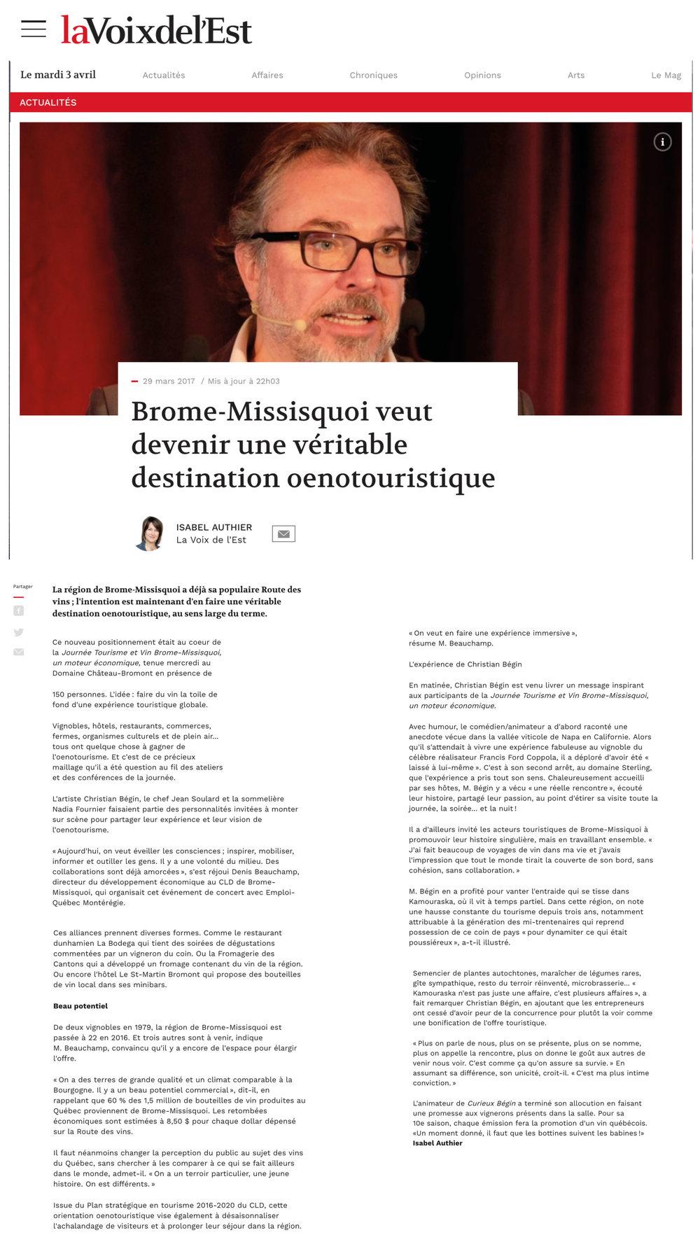 Article de presse - Tourisme et vins Brome-Missisquoi.jpg