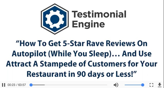 Restaurant 5 Star Reviews Training
