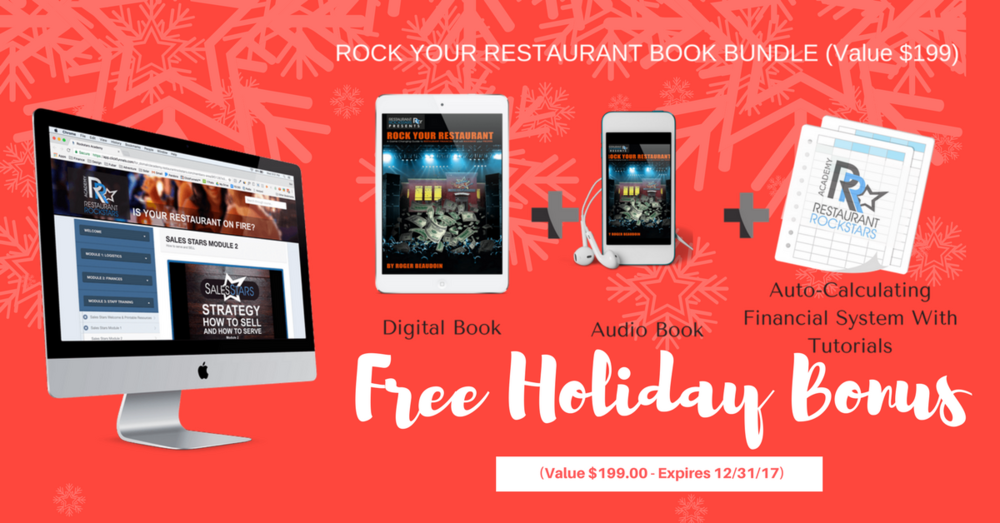 RESTAURANT ROCKSTARS 2017 HOLIDAY PROMO