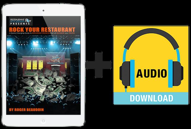 ROCK YOUR RESTAURANT BOOK | RESTAURANT ROCKSTARS | ROGER BEAUDOIN