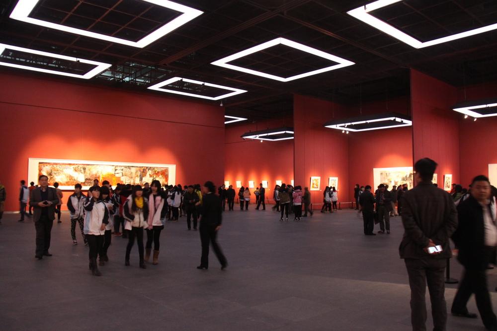 杨扬山东美术馆画展-主厅A1-杨扬个展共展出85幅作品图6.JPG