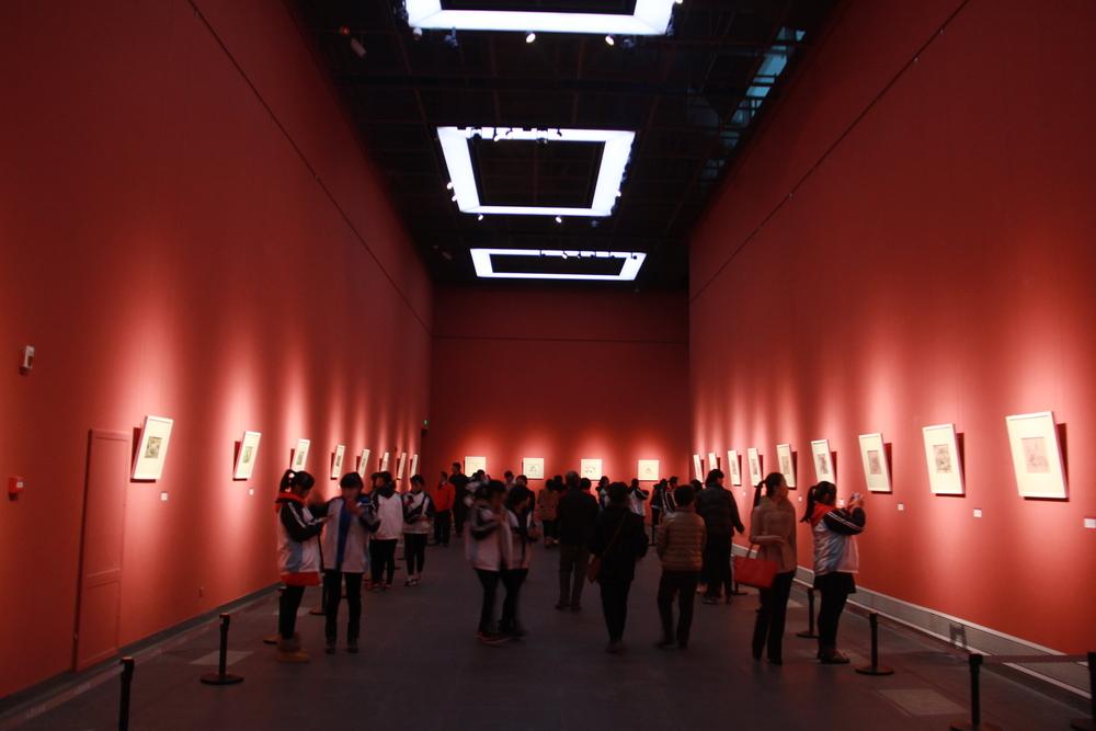 杨扬山东美术馆画展-主厅A1-杨扬个展共展出85幅作品图7.JPG