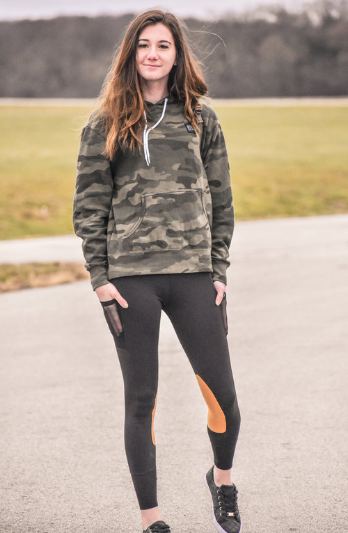 """Leggings are very cozy… Sweatshirt is my FAVORITE!"" - Jordan, Westphalian Dreamer"