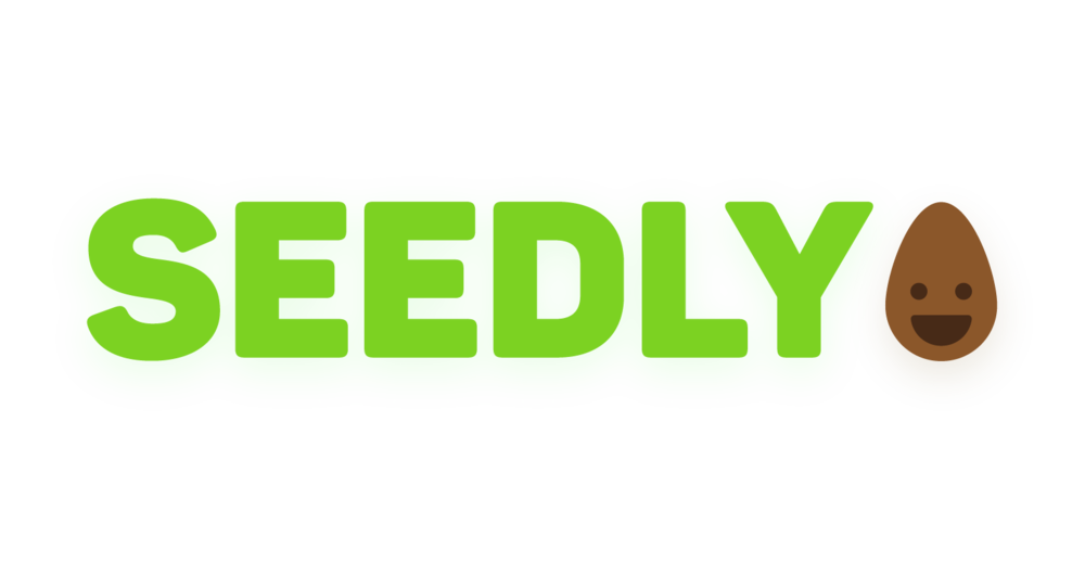 Seedly Logo - 2017 - I co-created this logo for a school project. The words were made by me and the face was made by Joe Kennedy. I compiled it together to provide the final logo.Objective: To create a fun and friendly logo that would appeal to children while maintaining legibility.