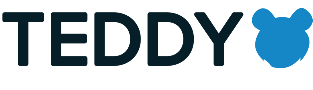 Teddy Logo - 2016 - I co-created this logo for a school project. The words were made by me and the face was made by Cardell Rosser. I compiled it together and stylized it to provide the final logo.Objective: To create a fun and friendly logo that would appeal to children while maintaining legibility.