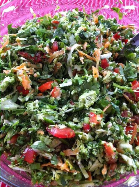 """Raw Explosion"" Salad"