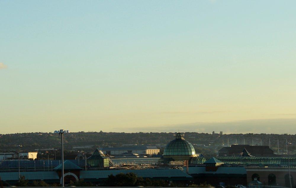 Panorama from the bridge...