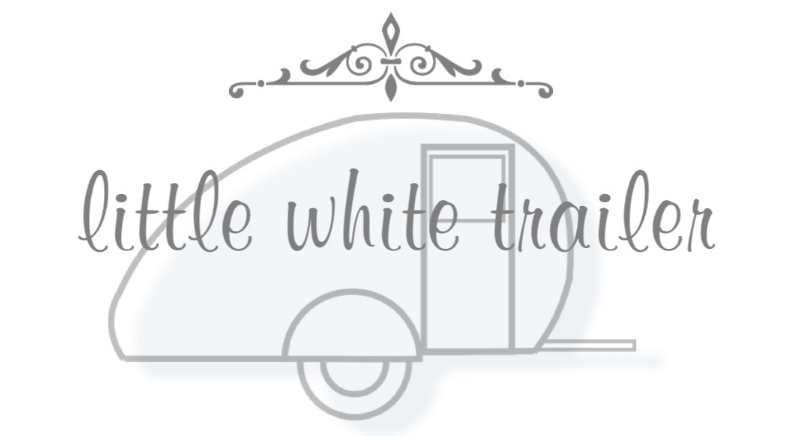 little white trailer