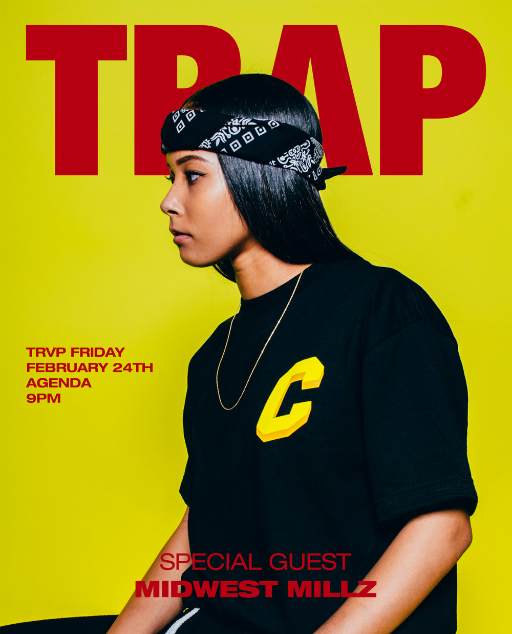 FEBRUARY TRAP FRIDAY / CKDO / ORGNZD VISUALS