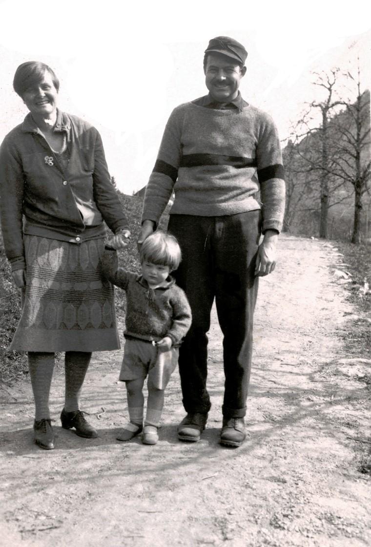 Ernest Hemingway & Family