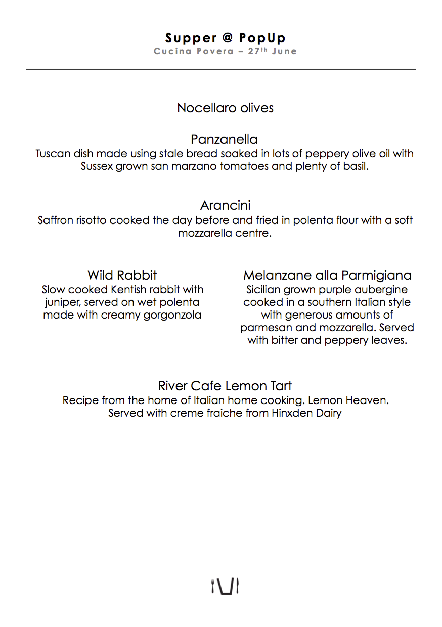 2015-06 supper popup printed table menu Italian cucina povera.png