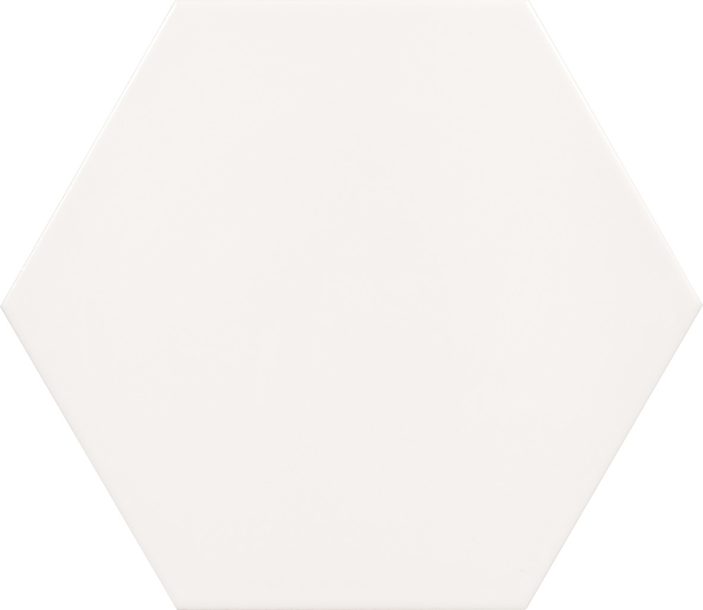 "Peronda Origami Blanco 10"" Hexagon  18 PC/CTN (10.76 SF); 48 CTN/PLT"
