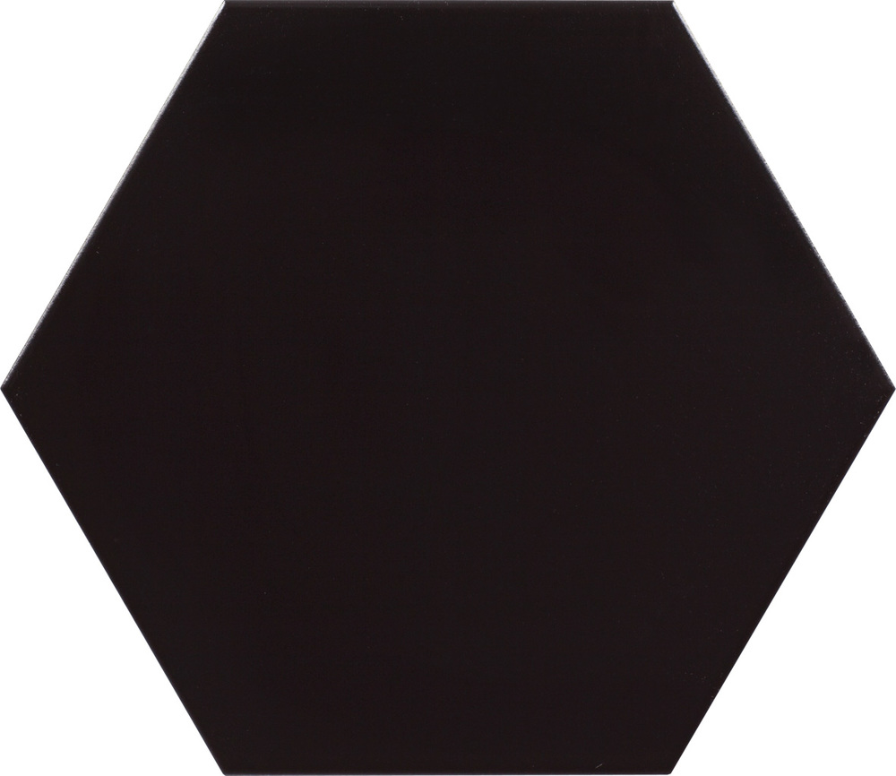 "Peronda Origami Negro 10"" Hexagon   18 PC/CTN (10.76 SF);   48 CTN/PLT"