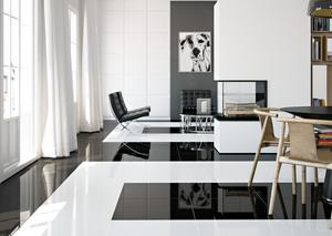 Dvomo Piano White & Black
