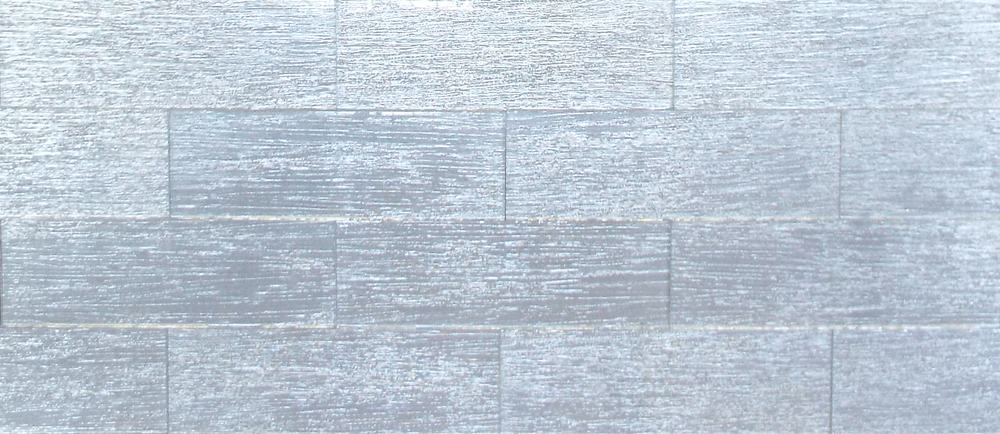 "BROAD SIL4X12P - 4""X12"" SILVER PLAIN 33 PC/CTN (10.76 SF); 72 CTN/PLT"