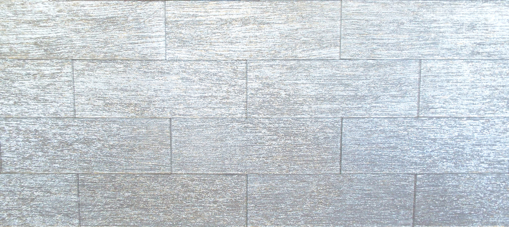 "BROAD SIL4X12T - 4""X12"" SILVER TEXTURED 33 PC/CTN (10.76 SF); 72 CTN/PLT"