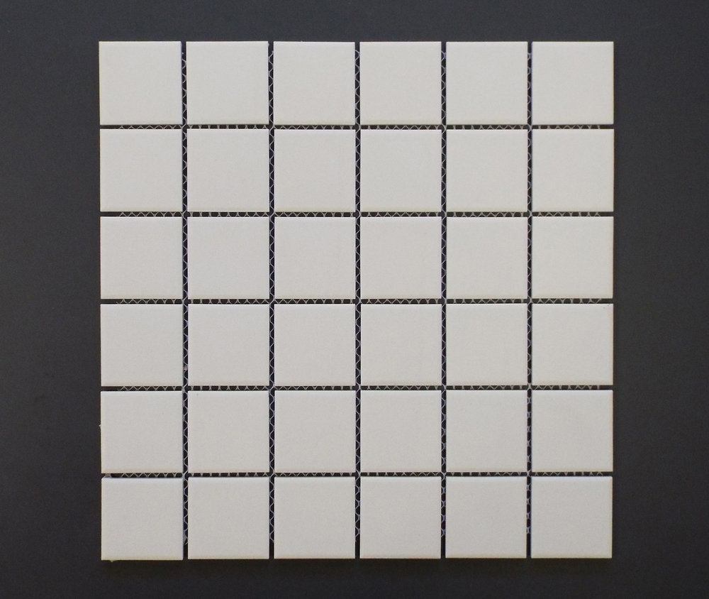 "UNGL WHITE - 2""X2""   20 PC/CTN (20.16 SF);   54 CTN/PLT"