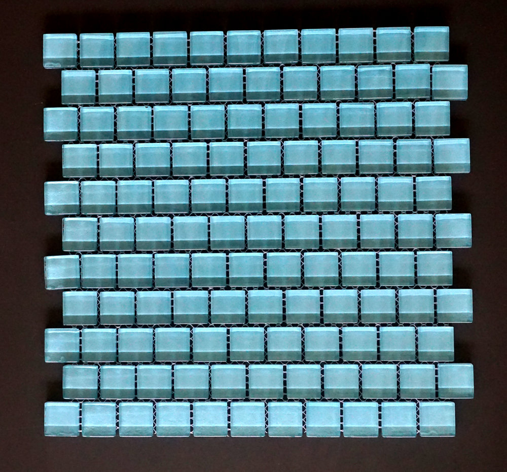 "TREND BLUE1X1 - Blue 1""X1"" Brick 11 PC/CTN (10 SF); 72 CTN/PLT"