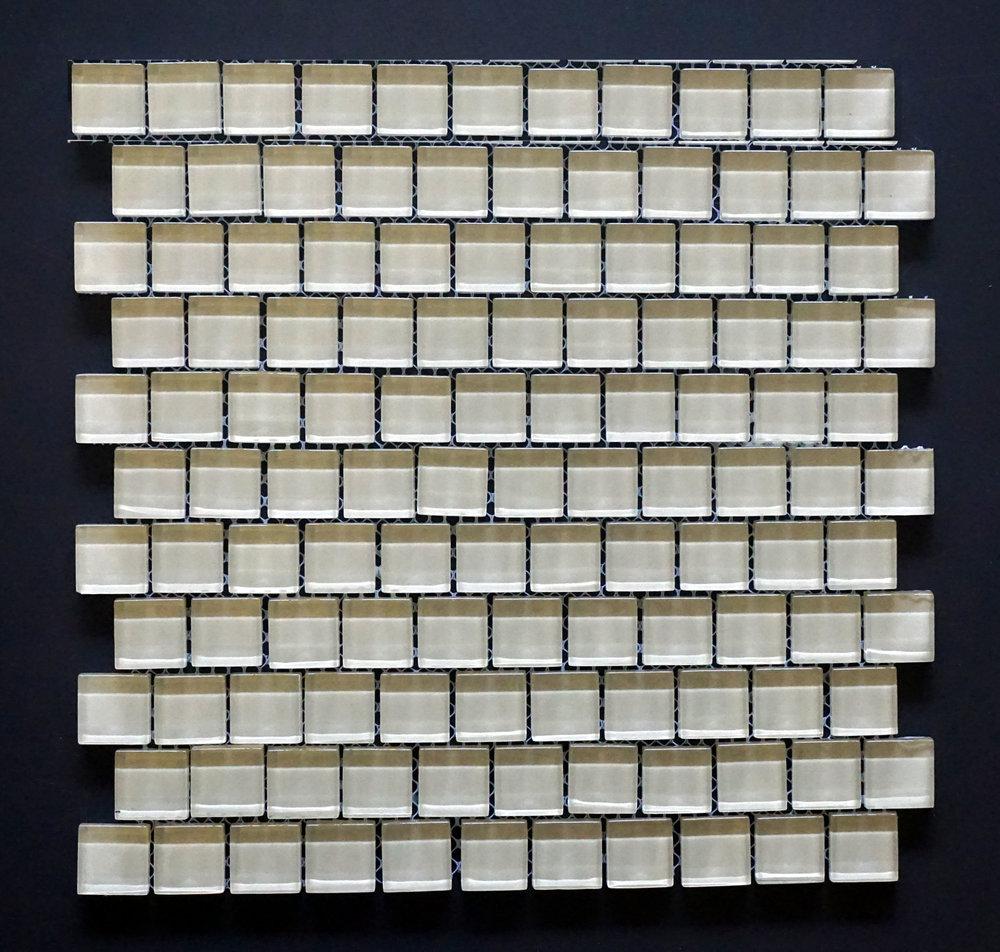 "TREND BEIGE1X1 - Beige 1""X1"" Brick  11 PC/CTN (10 SF);  72 CTN/PLT"