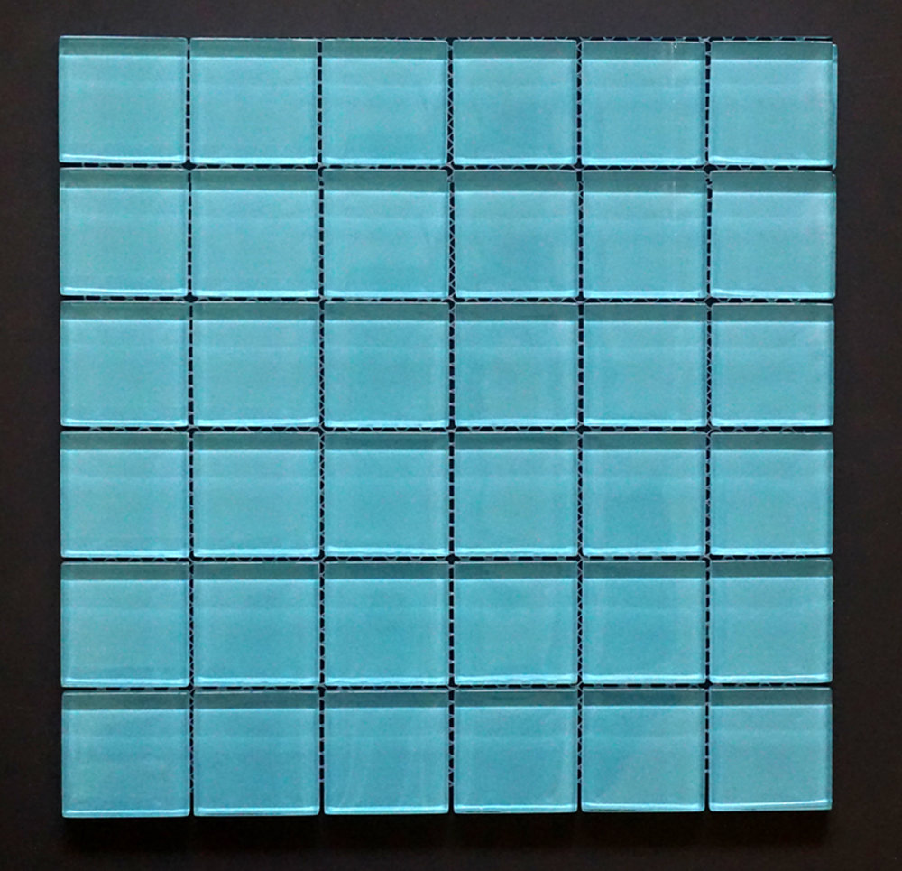 "TREND BLUE2X2 - Blue 2""X2"" Straight 11 PC/CTN (10.76 SF); 72 CTN/PLT"