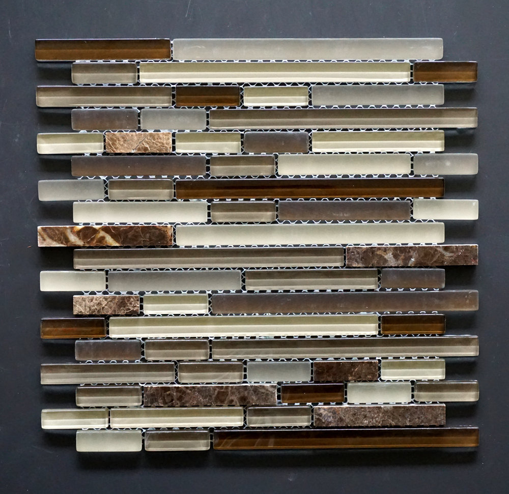 MANHATTAN BROWN MIX LISTELLO   11 PC/CTN (10.76 SF);   72 CTN/PLT