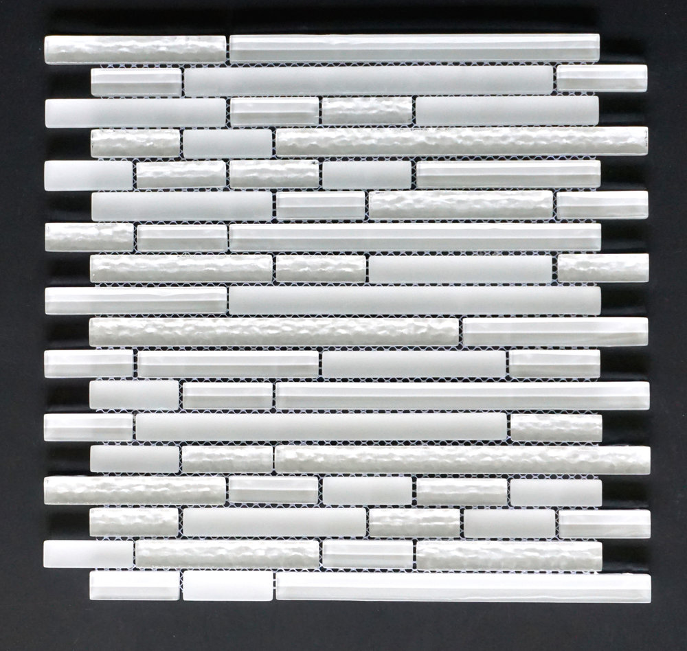 MANHATTAN WHITE LISTELLO   11 PC/CTN (10.76 SF);   72 CTN/PLT