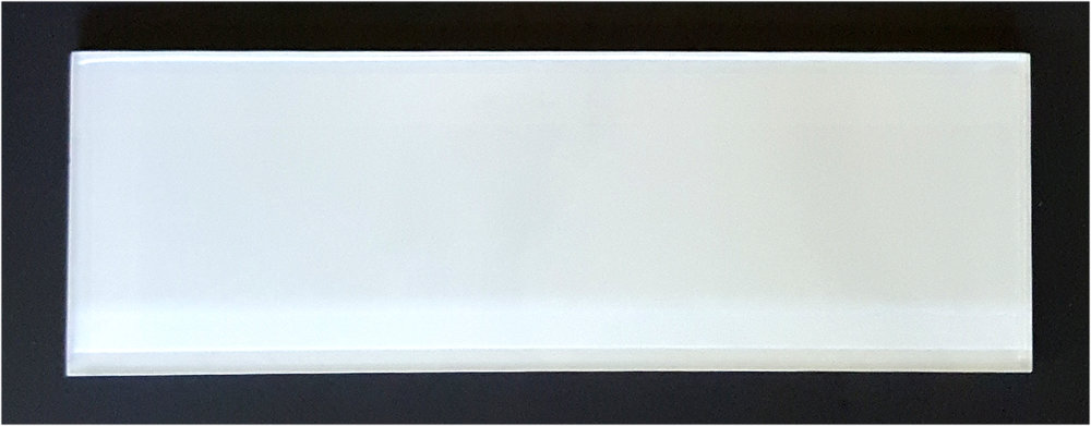 "TREND WHITE4X12 - White 4""X12"" Glass 33 PC/CTN (10.76 SF); 72 CTN/PLT"