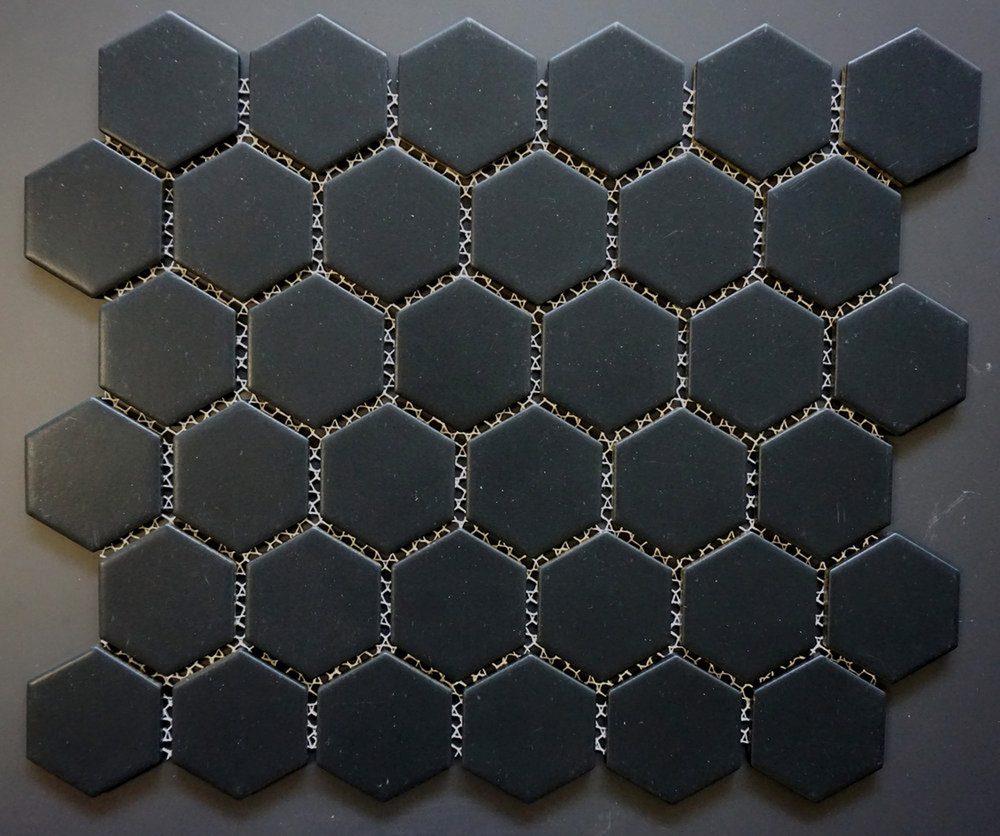 "HEX2 1022 - 2"" Matte  Hexagon   20 PC/CTN (  19.6 SF);   54 CTN/PLT"