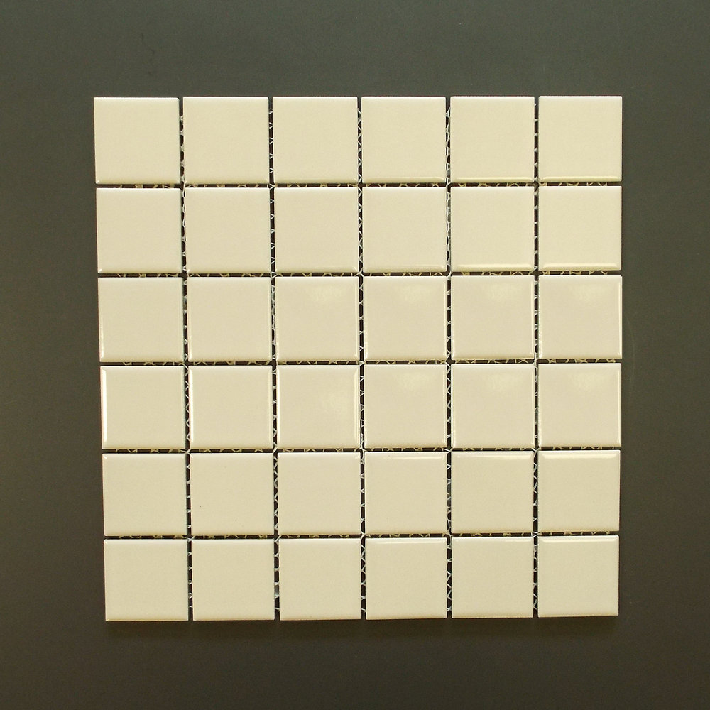 "SQ 117G - 2""X2"" Shiny Beige (check availability)  25 PC/CTN (25 SF);  45 CTN/PLT"