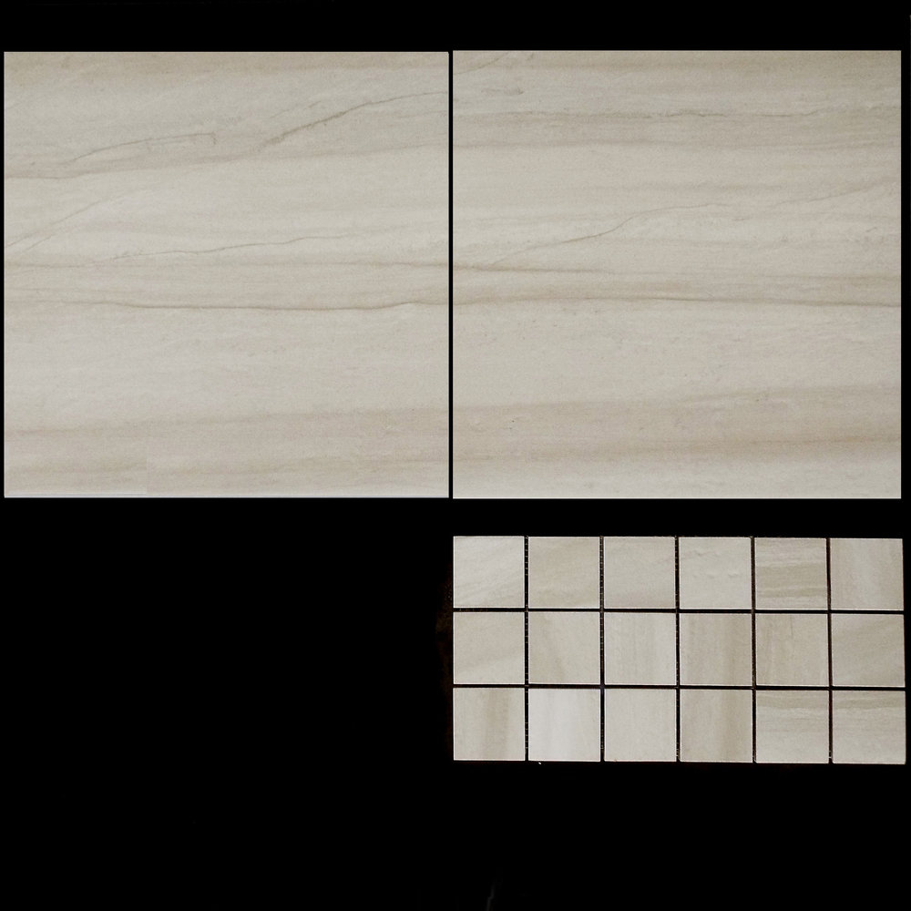 "TOUCH BEIGE 13""X13"" - 9 PC/CTN (10.76 SF); 62 CTN/PLT 2""X2"" MOSAIC - 9 PC/CTN (10.76 SF)"
