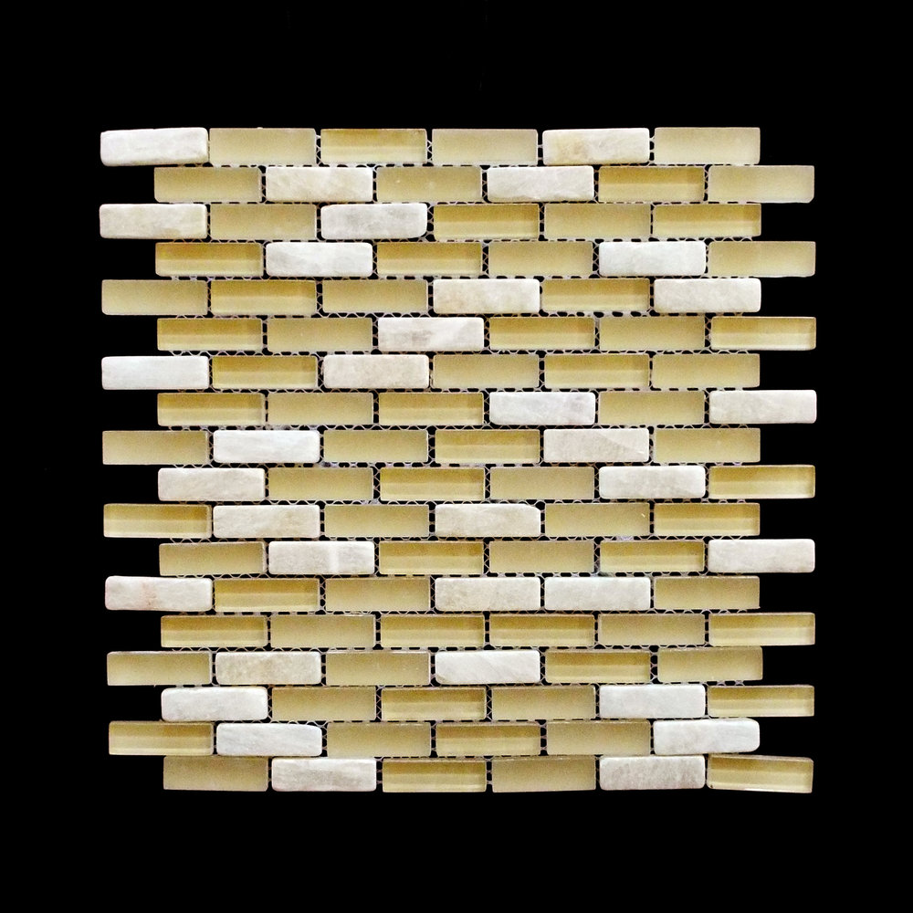 "Discontinued-   MANHATTAN HONEY BRICK TUMBLED 5/8""X2""  11 PC/CTN (10.76 SF); 72 CTN/PLT"
