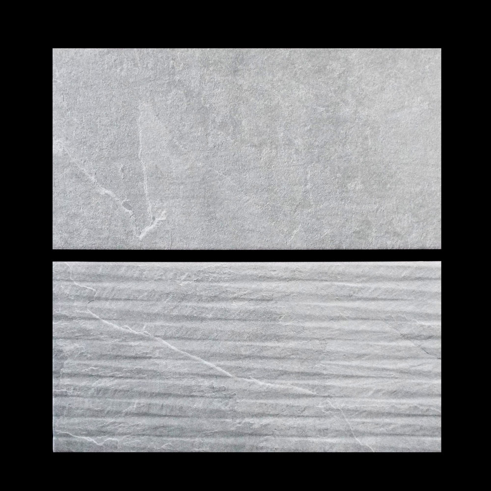 "Argenta Dorset Smoke 10""x20"" Ceramic    Agenta Dorset Smoke Lined Deco 10""x20"" ceramic  12 PC/CTN (16.15 SF);48 CTN/PLT"