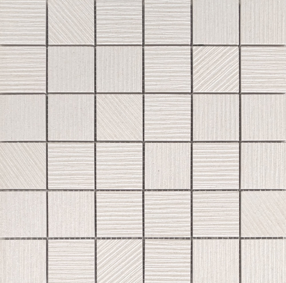 "ALLURE- DIAMOND WHITE 2""X2"" MOSAIC   11 PC/CTN (10.76   SF)"