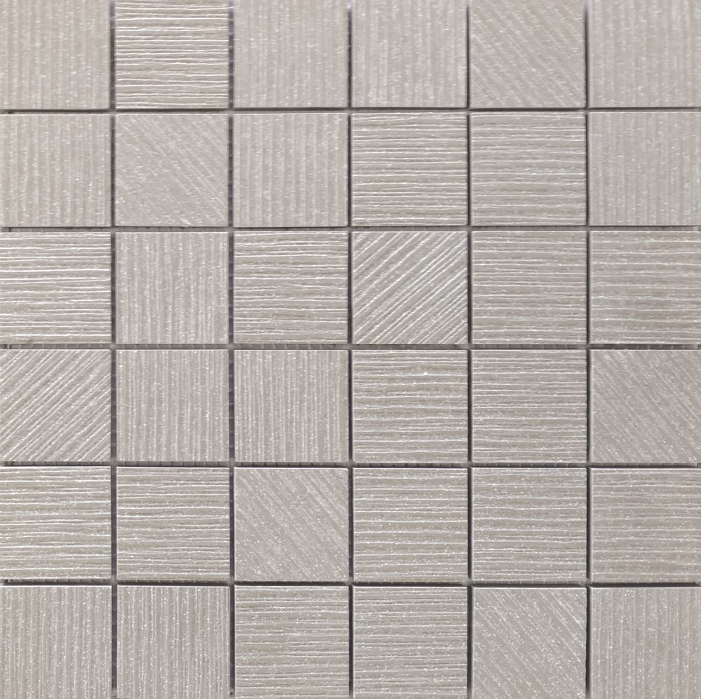 "ALLURE- PEARL GREY 2""X2"" MOSAIC   11 PC/CTN (10.76   SF)"