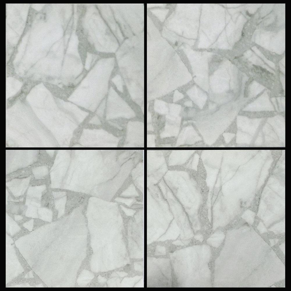 "Torino -Gray 24""x24"" Glossy   4 PC/CTN (15.50 SF);40 CTN/PLT"