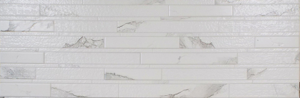 "MARMOL  - 13""X40"" CARRARA LINEA MIX    4 PC/CTN (14.21 SF); 54 CTN/PLT"