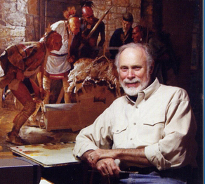 Robert Griffing in His Pittsburgh Studio