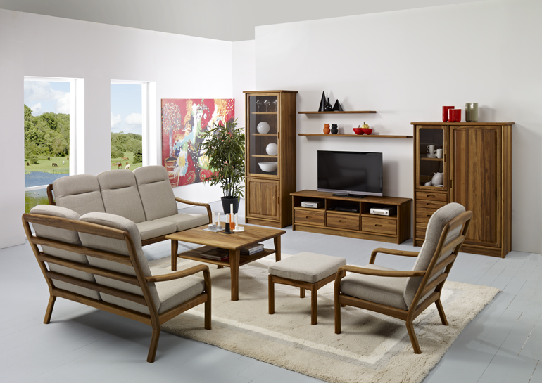Living Room Contemporary And Scandinavian Teak Furniture Fuchs Furniture