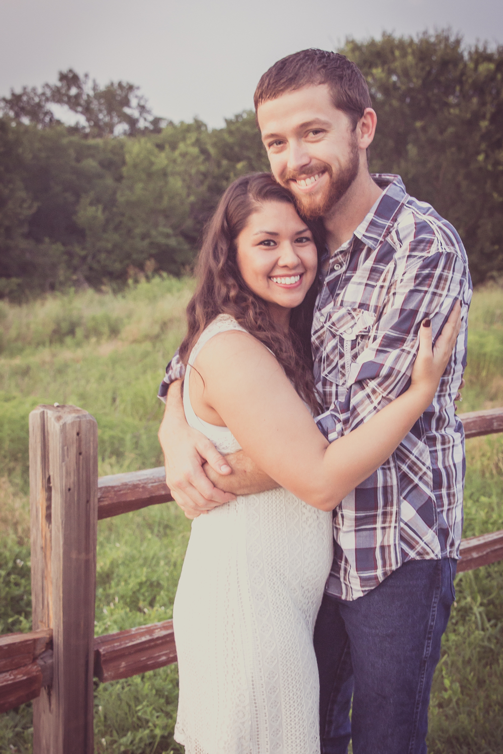 Engagement Photos at Arbor Hill Plano