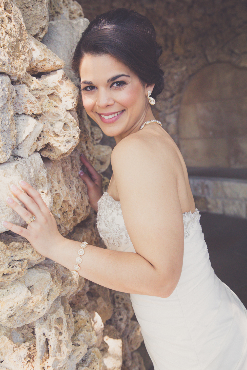 Bridal shoot at dallas arboretum