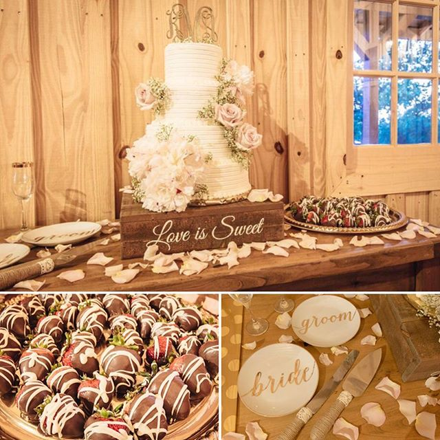 It is all about the dessert table! #springsvenue #desserttable #weddingcake #loveissweet #aubreyweddingphotographer #aubreywedding #weddingdetails #weddingphotography