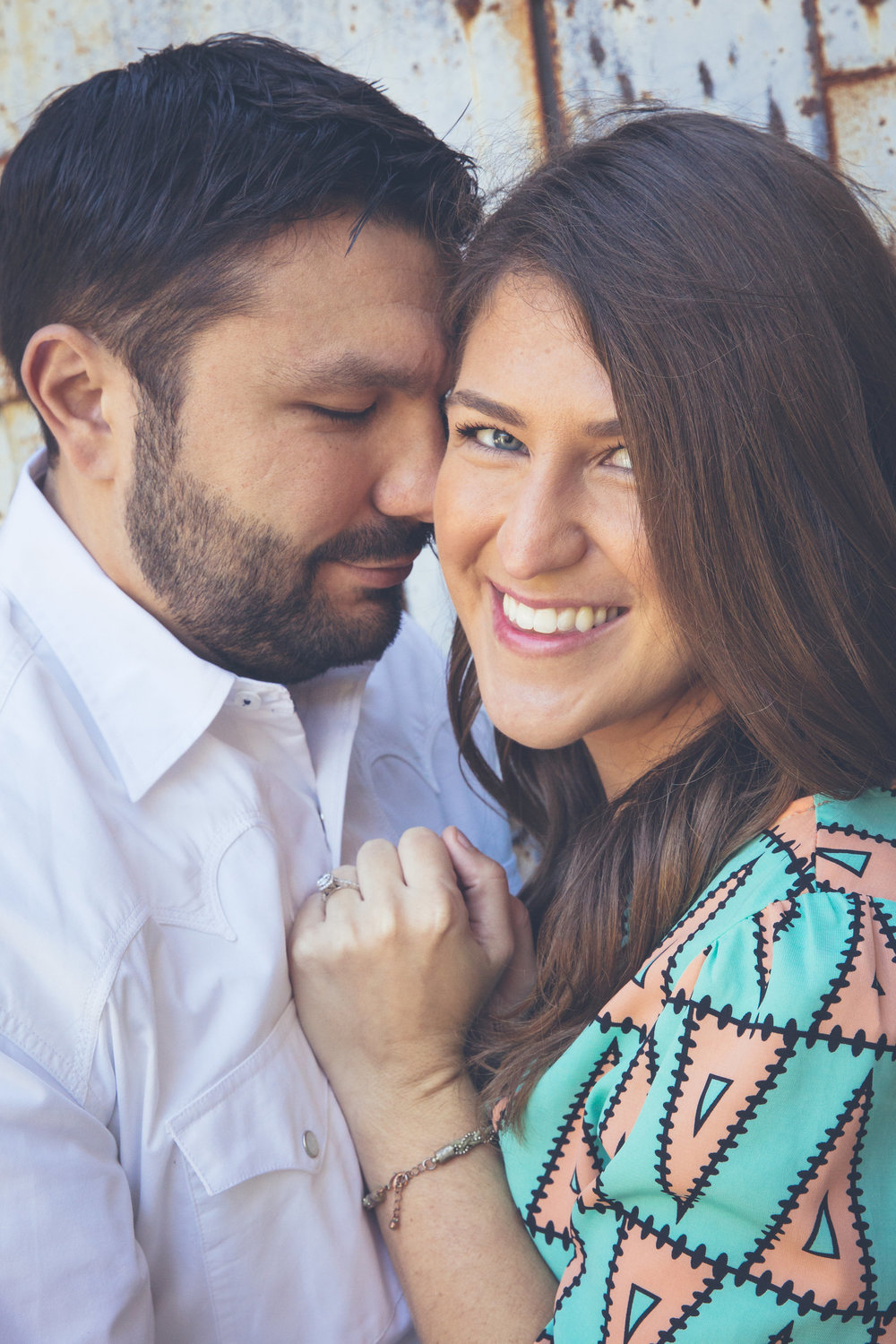Downtown McKinney Engagement Photography