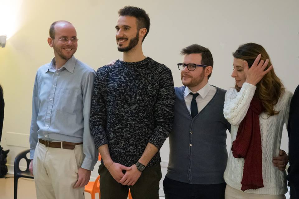 Matteo (center left) and Andrea (center right standing next to his wife Blerta) have recently joined the staff of Agape Italia in Rome. They are friends we have known for a while who responded to God's call on their life to serve Him by reaching out to university students with the gospel.
