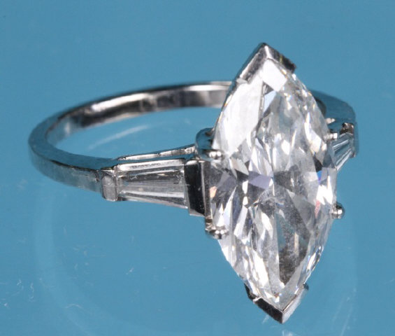 Diamond Solitaire Ring- $42,000