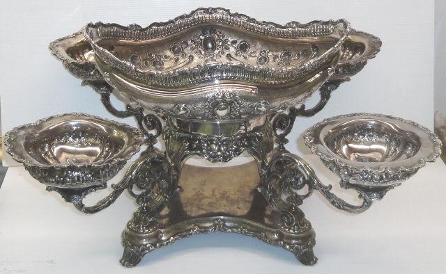 Gorham Sterling Silver Epergne- $13,530